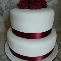 2 Tier Wedding Cake 2 tier wedding cake