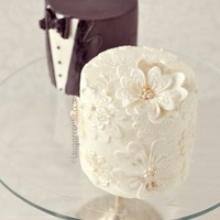 Princess Peony Wedding Shower Cake Mini Vintage Wedding Cakes