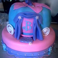 Cinderella Carraige Cake My Day Care lady wanted a Cinderella Carriage cake for her daughter's 3rd birthday party.