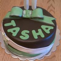 11Th Birthday For A Cheerleader! this is a birthday cake for an 11 year old in StyleShock Cheerleading