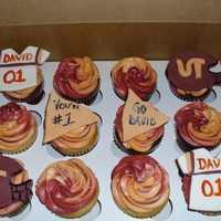 Team David These cupcakes are very special. I designed these for a 7 year old boy that just found out that he had stage 3 cancer and had a kidney...