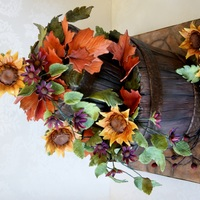 Rustic Buckets With Flowers I love it when I get freedom with a cake design! I was inspired by a beautiful painting I saw a few weeks ago. Maple pecan spice cake with...