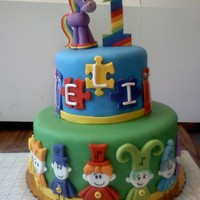 Baby First Tv Cake