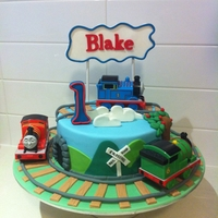 Thomas And Friends One Tier Thomas Cake