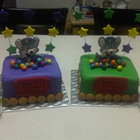 Chuck E Cheese   chuck e cheese and decorations all made using mmf and gum paste. TFL!