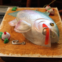 Rainbow Trout Cake