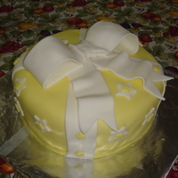 Gift Wrapped Birthday Cake