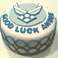 Air Force Cake Air force cake - good luck http://jaclyndesigns.blogspot.com/