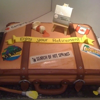 Traveling Art Case Signs/Stickers were made using edible markers colored on ddible frosting sheets.
