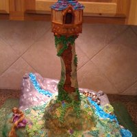 A Fairy Tale Tower   Inspired by the movie Tangled