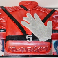 Michael Jackson Thriller Jacket And Glove Cake