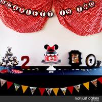 Minnie Mouse Themed Birthday   *