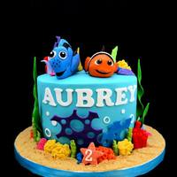 Nemo Themed Birthday Cake   *
