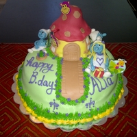 Smurfs Birthday Cake Smurfs cake for a smurfs fan