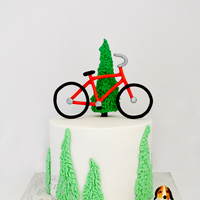 Bicycle Cake Bicycle cake