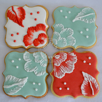 Embroidery Cookies Embroidery cookies