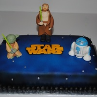 Star Wars StarWars Birthday cake