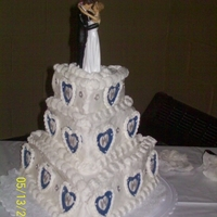 Triangle Wedding Cake
