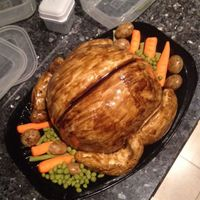 Roast Chicken Cake