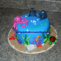 Under The Sea   All creatures made from MMF. There are matching cupcakes as well. Check my folder to see more :)