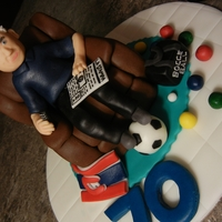 Old Man Cake topper is RKT covered in MMF. The man is also MMF.