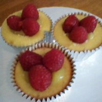 Lemon Raspberry Cupcakes   These cupcakes are always a big hit..lots of flavor!