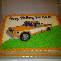 Fbct Truck Cake  I was asked to do this cake for a local church- It was the Pastor's birthday, and since his truck is his baby, they requested I put...