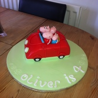 Peppa Pig Cake I made for my nephews birthday. He loved it :-)