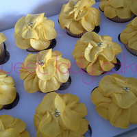 "Play Date Pansiesvanilla Cupcakes With Buttercream Pansies Play Date Pansies....Vanilla cupcakes with buttercream ""pansies""."