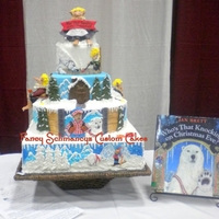"Who's That Knocking On Christmas Eve This is a 4 tier cake made for Buddy ""Cake Boss"" tour contest when he came to town. Theme of the cakes were your favorite..."