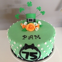 Irish Themed Birthday Cake Irish Themed Birthday Cake