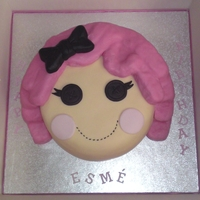 Lalaloopsy Crumbs Sugar Cookie Rainbow cake