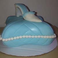 Pillow Cake With Shoe