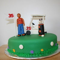 1320771715.jpg My first atttempt at a golf cake