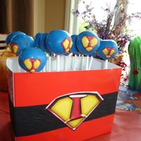 Super Isaac Cake Pops