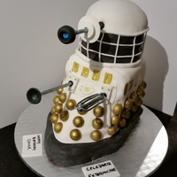 Smoochie's Creations - Neapolitan Dr. Who Dalek Cake Smoochie's Creations - Neapolitan Dr. Who, Dalek Cake - Layers of Strawberry cake, strawberry freezer jam filling, vanilla cake,...