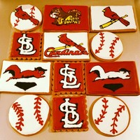 Cardinal's Baseball And Rally Squirrel Themed Baseball Gingerbread Cookies Cardinal's Baseball and Rally Squirrel Themed Baseball Gingerbread Cookies