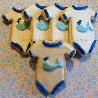 Nautical Theme Decorated Sugar Cookies