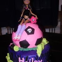 Monster High Soccer Monster high soccer
