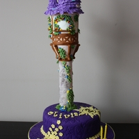 Tangled Cake   This is for my daughter's birthday. I fear this will fall apart on the way to the venue. God help me.
