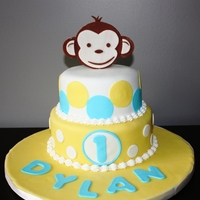First Birthday Monkey Theme