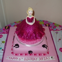 Fashion Fairytale Barbie Birthday Cake
