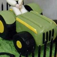 30Th Birthday Tractors Cake