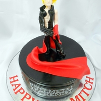 Edward Elric Full Metal Alchemist Anime Cake