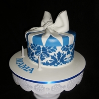Blue And White Giftbox