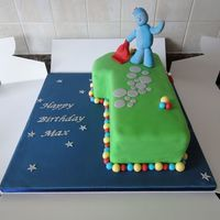 Iggle Piggle Cake From In The Night Garden Iggle Piggle cake from In The Night Garden