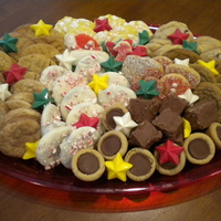 Holiday Cookie Tray My sister and I have a crazy weekend of baking every holiday season. We make trays of treats to take with us everywhere we go. This was a...