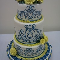 This Is One Of The Two Cakes I Made For My First Show With N.y. Cakes