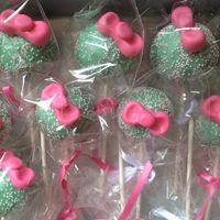 Girly Cake Pops