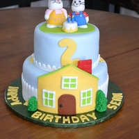 Max& Ruby   My grandson loves Max and Ruby, I made him this for his 2nd Birthday.